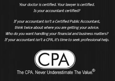 Is Your CPA Certified?